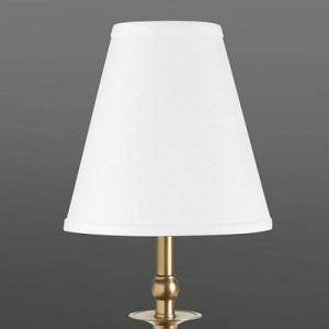 Ballard Designs Couture Buffet Lamp Shade White Linen Bell - Ballard Designs