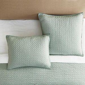 Ballard Designs Lottie Crochet Quilted Sham - Ballard Designs