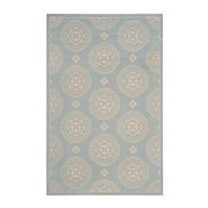 "Ballard Designs ""Antigua Indoor/Outdoor Rug - Select Color Green 2 6' 7"""" Round - Ballard Designs"""