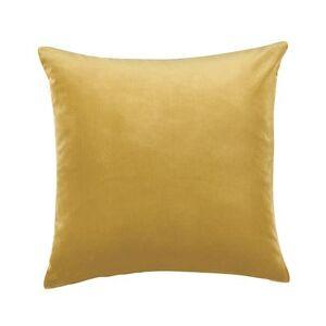 """Ballard Designs """"Signature Velvet/Linen Pillow Cover -Select Colors Persimmon 20"""""""" x 20"""""""" - Ballard Designs"""""""