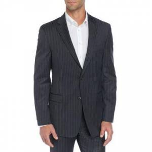 Tommy Hilfiger Grey/White Stretch Classic Fit Sportcoat Separate