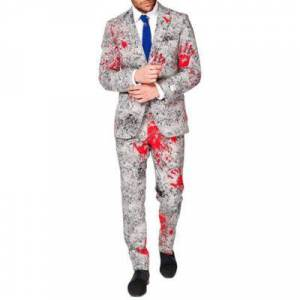 OppoSuits Gray The Zombiac Suit