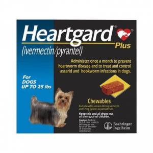 Heartgard Plus Small Dogs up to 25lbs (Blue) 6 DOSES