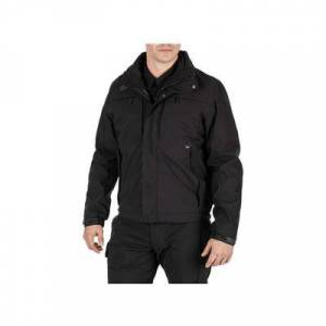5.11 Tactical Men's Apparel & Clothing 5-in-1 Shell Jacket 2.0 - Mens Black Small Regular
