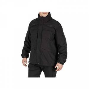 5.11 Tactical Men's 3 in 1 Jackets 3-in-1 Parka 2.0 - Mens Black Small Regular Model: 48358-019-S