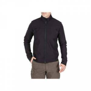 5.11 Tactical Men's Active Jackets Preston Wind Jacket - Mens Black Extra Large Model: 78028-019-XL