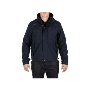 5.11 Tactical Men's Apparel & Clothing 5-in-1 Shell Jacket 2.0 - Mens Dark Navy 3XL Regular