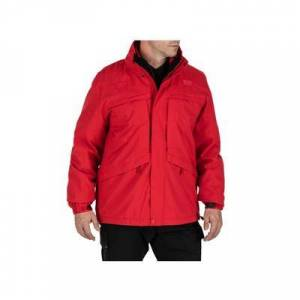 5.11 Tactical Men's 3 in 1 Jackets 3-in-1 Parka 2.0 - Mens Range Red Extra Small Regular