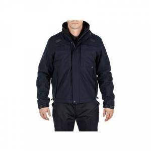 5.11 Tactical Men's Apparel & Clothing 5-in-1 Shell Jacket 2.0 - Mens Dark Navy 4XL Regular