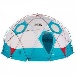 Mountain Hardwear Backpacking Tents Space Station Dome Tent - 8 Person Alpine Red