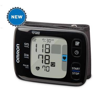 Omron 7 Series Bluetooth Wireless Wrist Worn Blood Pressure Monitor (Compatible with...