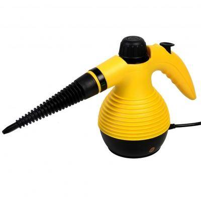 Costway 1050W Multi-Purpose Handheld Pressurized Steam Cleaner-Yellow