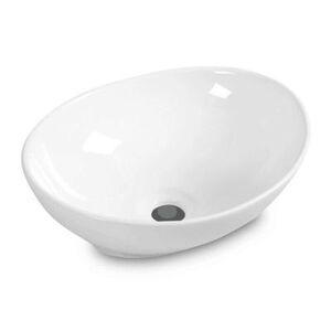 Costway Oval Bathroom Basin Ceramic Vessel Sink