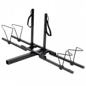 """Costway """"Costway 2"""""""" Heavy Duty 2 Bicycle Hitch Mount Carrier"""""""