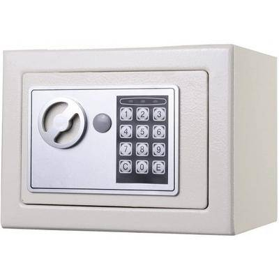Costway Small Digital Electronic Safe Box-White