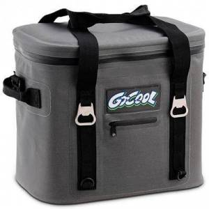Costway 24-Can Soft Cooler Water-Resistant Leakproof Insulated Lunch Bag