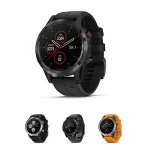 Garmin GPS Fenix 5 Plus Sapphire Watch NA Black/Black 0100198800 Model: 010-01988-00""""""