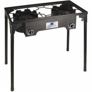 """Stansport """"""""""""Stansport Camping Gear Outdoor Stove 2 Burners 101840 217 Model: 101840"""""""""""""""