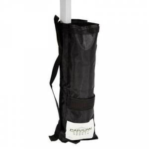 Caravan Canopy 10001200001 Black 25 lb. Weight Bag - 4/Set