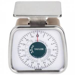 Taylor TP32 32 oz. Compact Portion and Ice Cream Over Run Scale