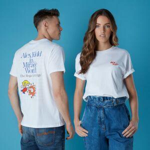 Sega Alex Kidd Unisex T-Shirt - White - S - White